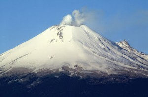 The Popocatepetl Volcano in Puebla Photo by visitmexicopre